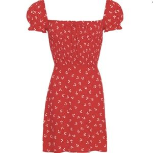 JEANNE PRINT - CHERRY - GENEVIEVE DRESS FAITHFULL